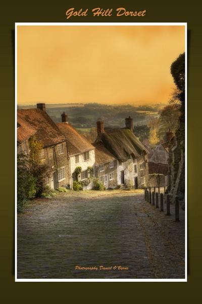 Gold Hill:  Dorset by danob