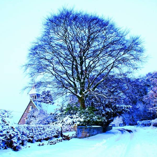 Snowy Church by SexyDan