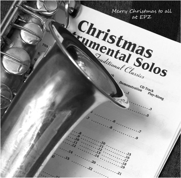 Christmas Sax by JudeC