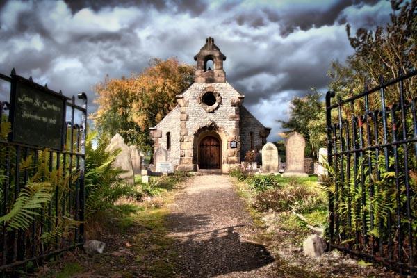 Little Longstone Chapel by dwillows