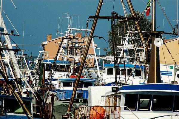 Fishing boats by navigatornick