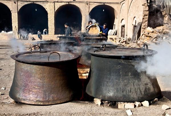 Moharram Charity Food Preparation by aminnadi