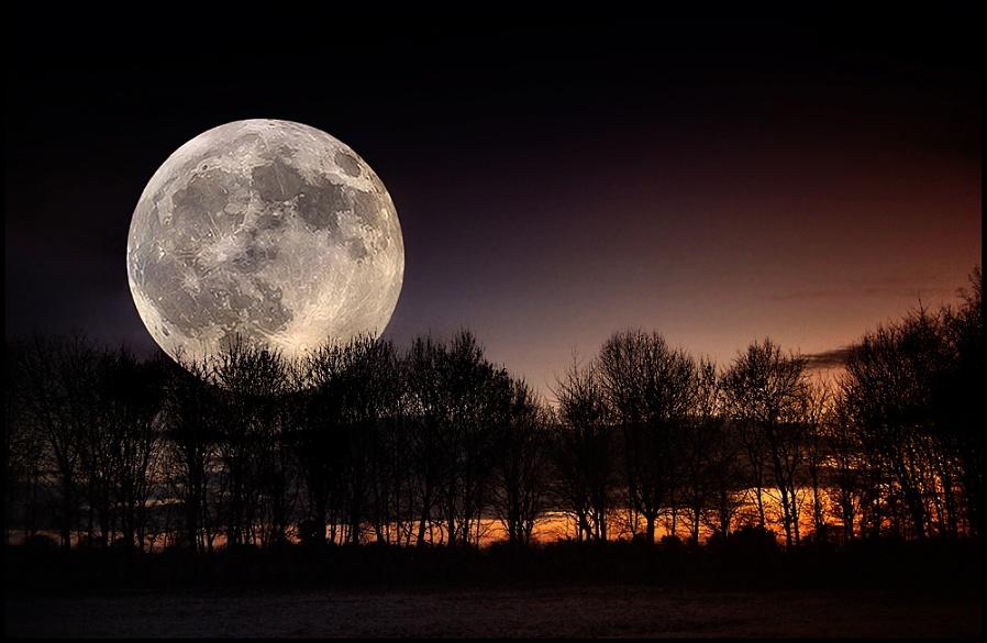Shropshire Moonrise.