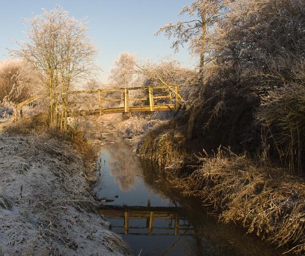 Footbridge by Philo