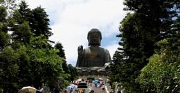 Buddha at Lantau island