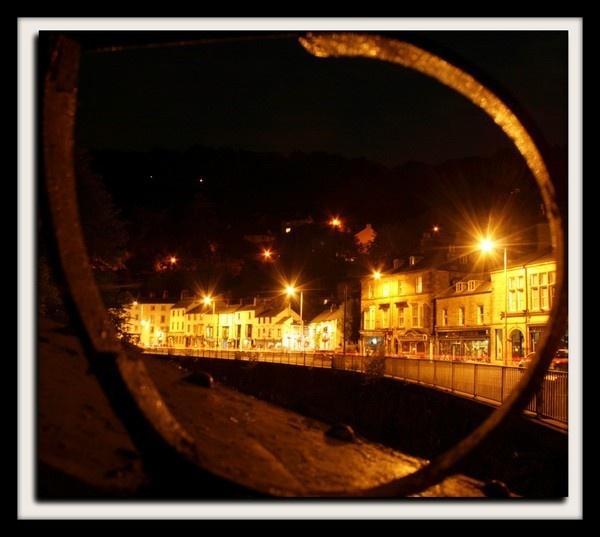 Matlock Bath through the Jubilee Bridge by Spangle2008