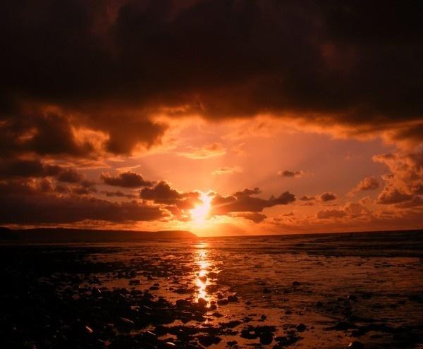 Aberareon Sunset by mitchellbanksphotography