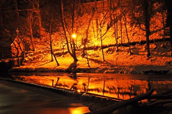 durham river at night by tattsdurham