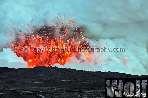 Kilauea volcano vent, Big Island, Hawai\'i by wolf1964