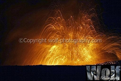 Night eruption, Kilauea, Big Island, Hawai\'i by wolf1964