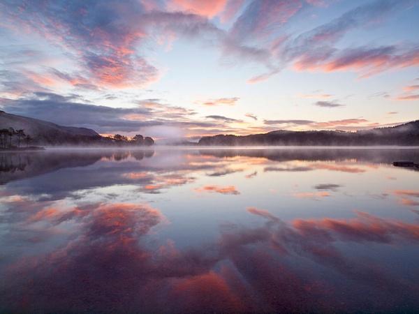 Loch Ard Dawn by camay