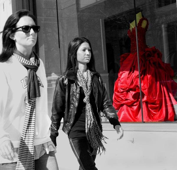 red dress by jimlad