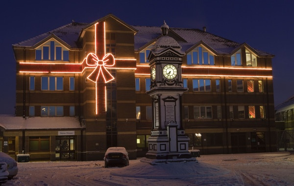 Stena House and Holyhead Station Clock by Red_Herring