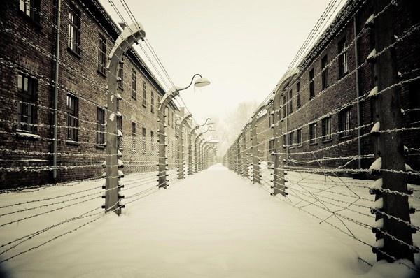 Auschwitz I - Fences by Alan86