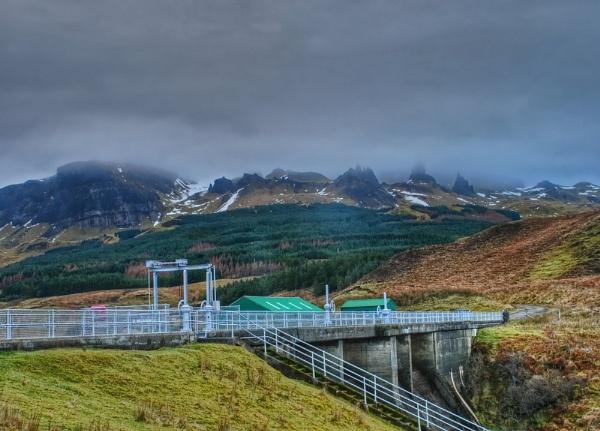 The Dam below The Storr by Sasanach