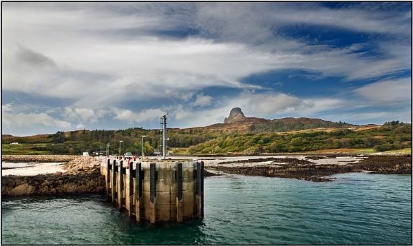 Eigg Pier by porty2003