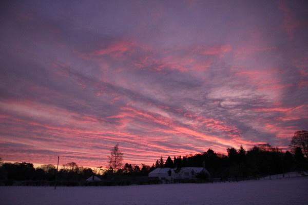 winter sky by jingler