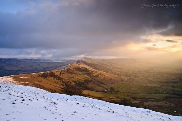 Great Ridge Winter Sunrise by jamesgrant