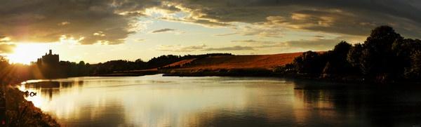 Sunset at Warkworth by brq