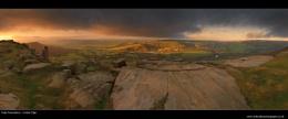 Peak Panoramics - Curbar Edge