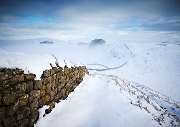 Snow and Mist by DavidWebb