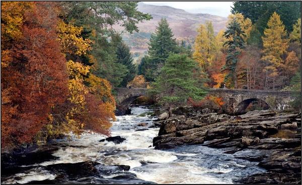 Autumn at Killin by MalcolmM
