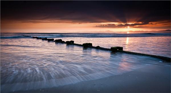 Harlech Sunset by colin63