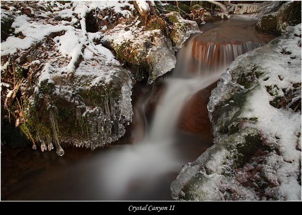 Crystal Canyon II by DaveMead