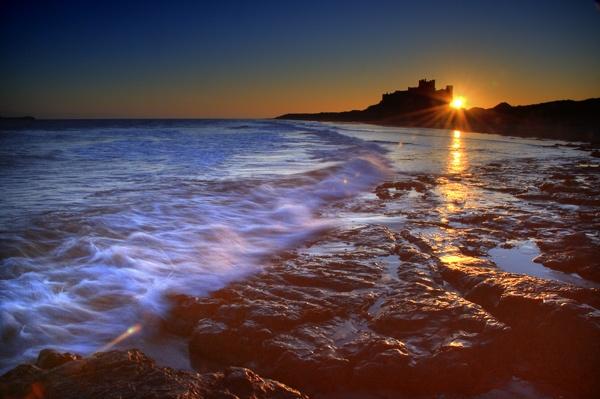 Bamburgh Sunrise by maphotography