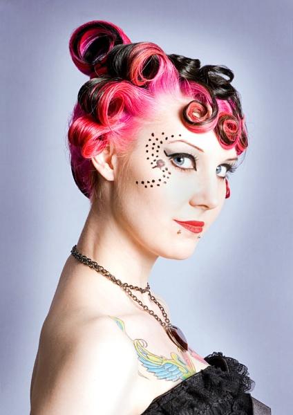 Hair style by Ania Pankiewicz