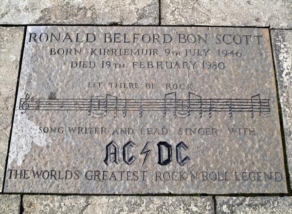 AC/DC Ronald Belford Bon Scott by DundeePhotographics