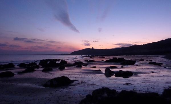 Evening Beach Glow by seaviewlou