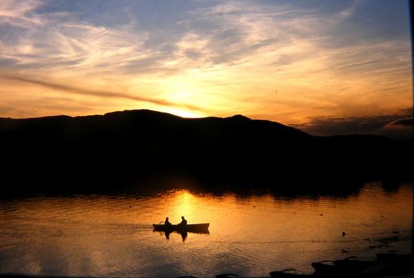 derwent sunset by cairntable