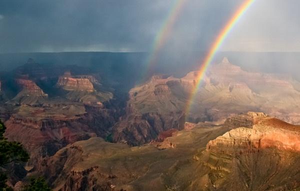 A Grand Rainbow by gvet