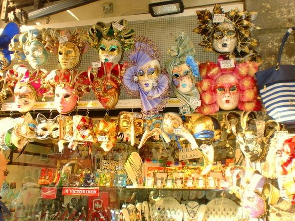 Venecian masks by AnnaGasiorowskaBurgess