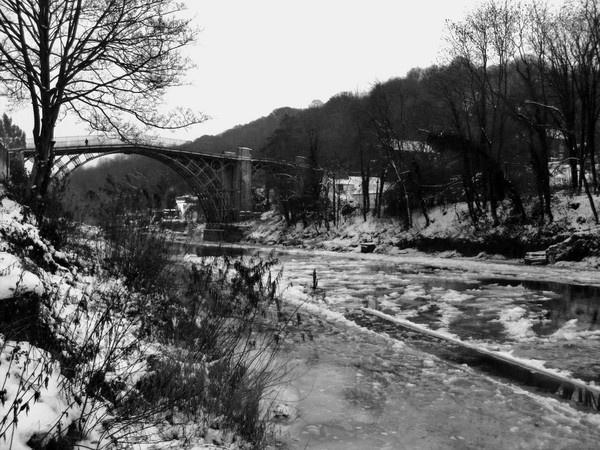 Frozen under the Bridge by mitchellbanksphotography