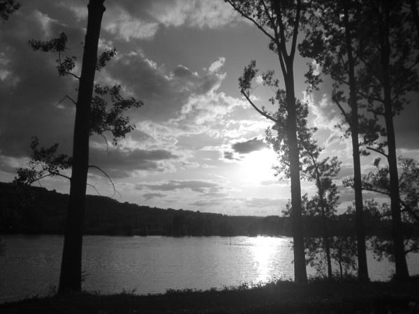 evening sun by 77