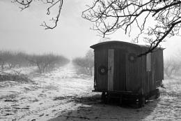 Winter caravaning
