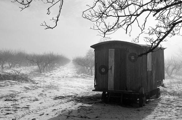 Winter caravaning by acbeat
