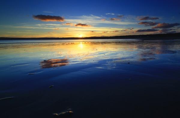 Last Light over Mounts Bay by natureslight