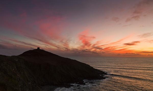 Rame Head Sunset by andyfox
