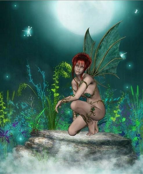 Green Fairy by leginR