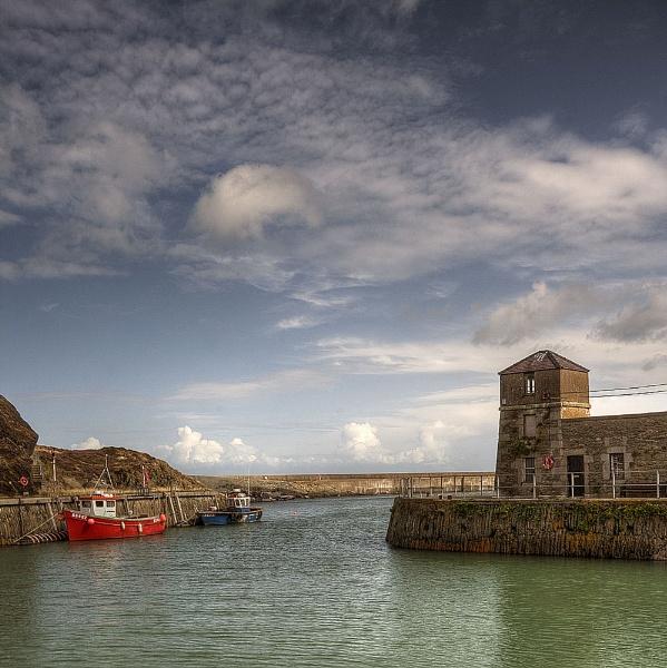 Amlwch Harbour by JanieB43