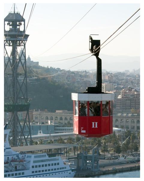 Barcelona Cable Car by GarrathE