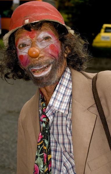 The saddest Clown by markst33