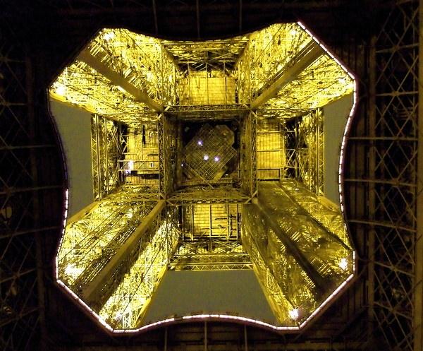 Underneath the Eiffel Tower-Paris by PaulLiley