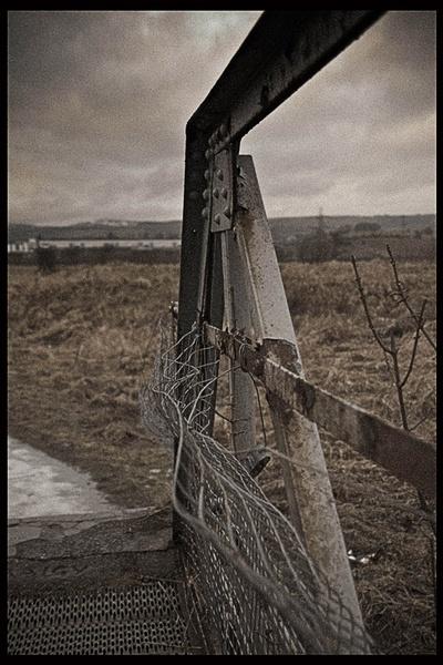 Winter bridge by sarahpix