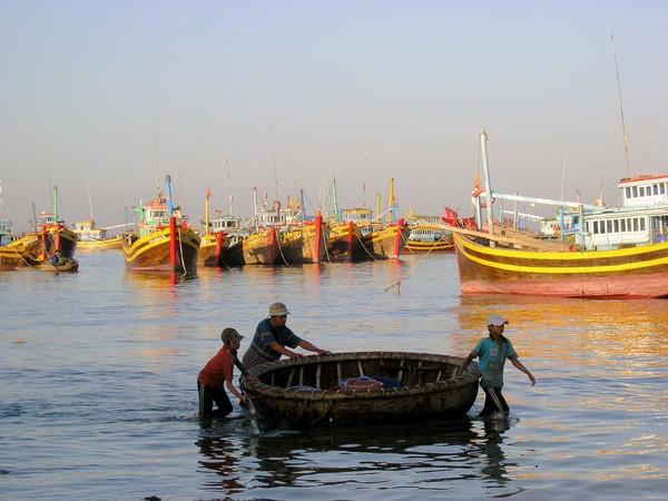Fishing Boats by barbaramac