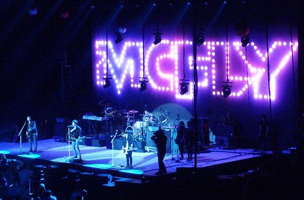 O2 Concert -McFly. by digitalgirl
