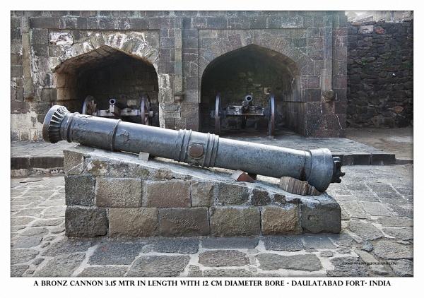 Bronz Cannon by hasu